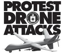 Protest Drone Attacks