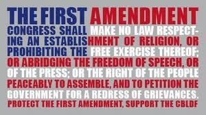 Congress shall make no law . . .