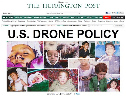 HuffPo_FrontPage_USDronePolicy_030713