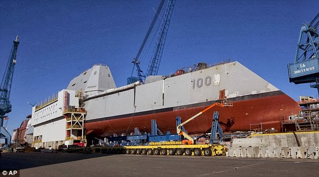 "Zumwalt ""stealth"" destroyer"