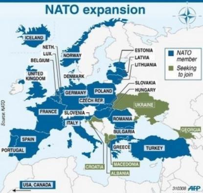 NATO encroaches on Russia