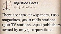 Media Injustice Facts