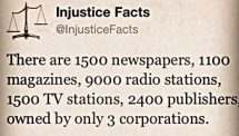 Media Injustice Facts