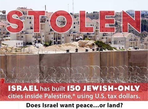 Stolen, Palestinian Land