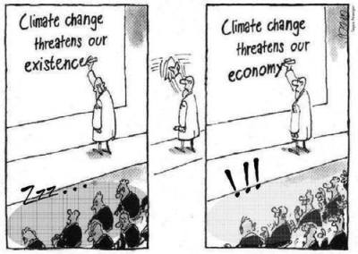 Climate change threatens...