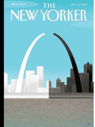 new yorker cover ferguson