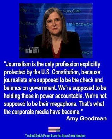 Amy Goodman on Corporate Media