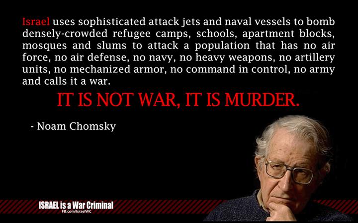 Chomsky, Not War, Murder