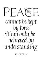 Peace Einstein_midlibrary.org