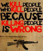 Because killing people is wrong