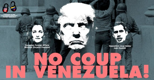 Campaign to End US-Canadian Sanctions Against Venezuela.