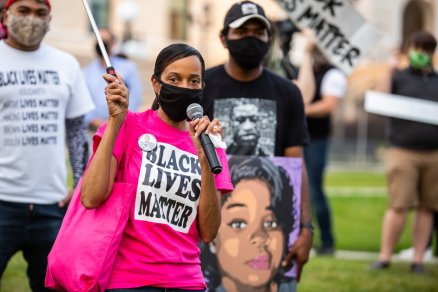 An acquittal in Breonna Taylor's killing by police ignited a rally and march in the Twin Cities. Photo: emmasron.com