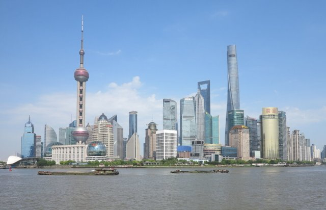 Shanghai, China's financial center. Photo: Wikimedia Commons